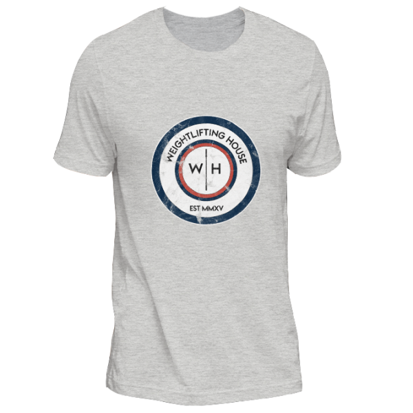 Original Weightlifting House logo t-shirt