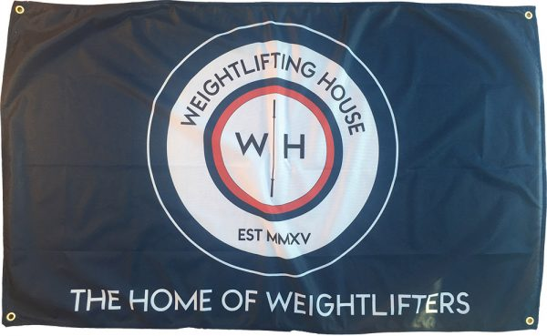 Weightlifting House Flag