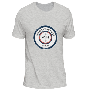 Original Weightlifting House logo t-shirt