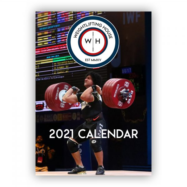 2021 weightlifting calendar for olympic weightlifting