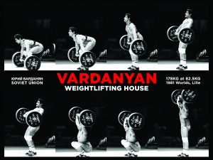 Yurik Vardanyan Weightlifting Poster