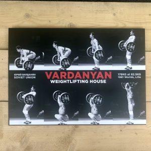 Yurik Vardanyan Weightlifting House poster