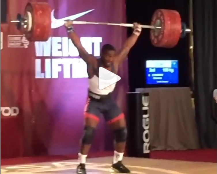 Jr world record holder CJ Cummings hits all time records 149/189 at the American Junior Nationals