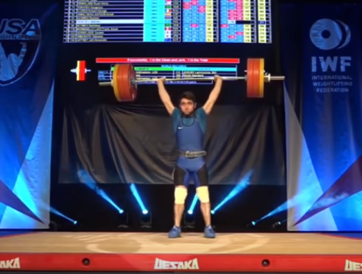 67 kg results from the 2019 Youth Weightlifting World Championships