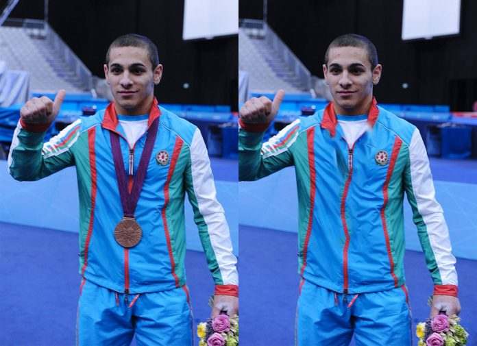 Valentin Hristov with and without an Olympic bronze medal