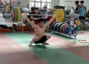 Wu Jingbiao Snatching 145 kg