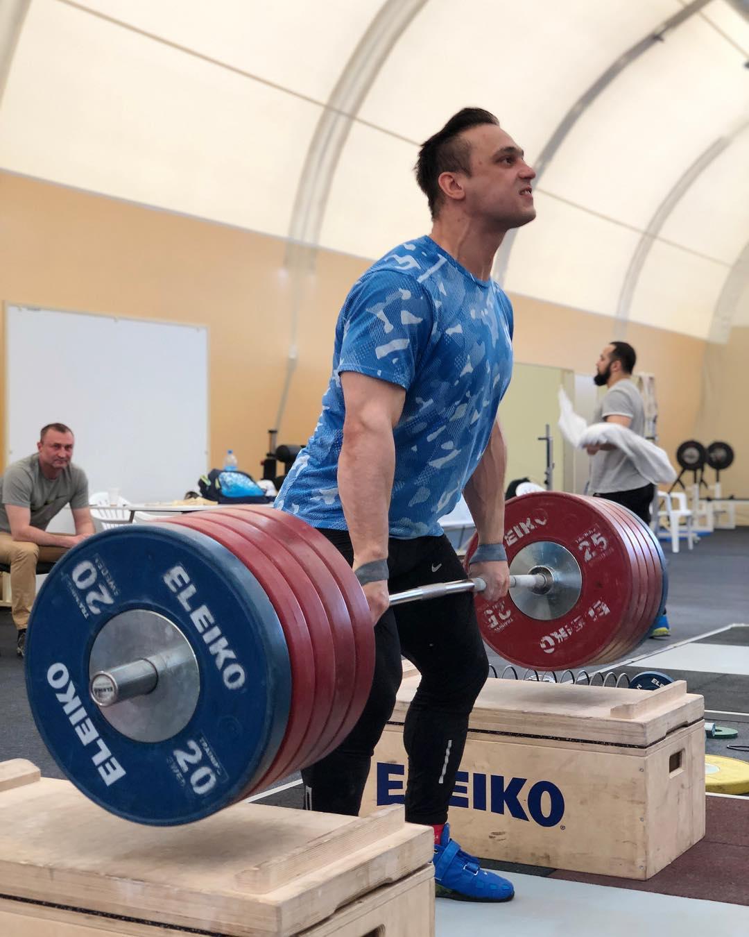 Kazakh weightlifter Ilya Ilyin talks about his training