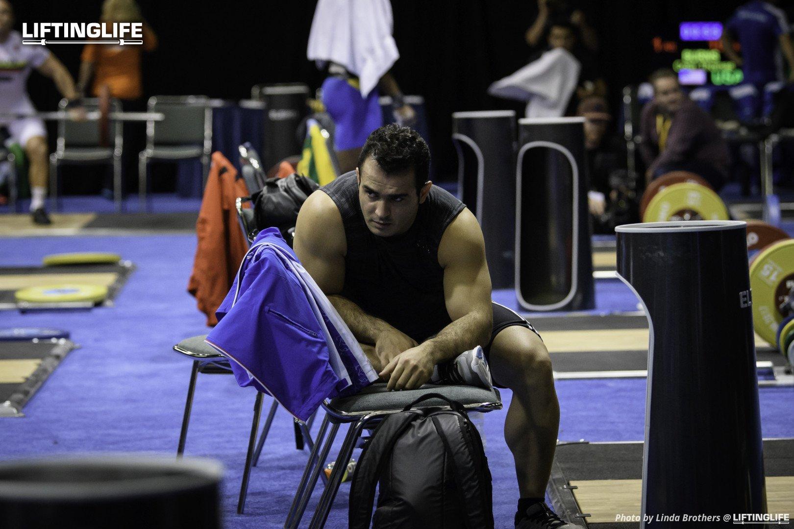 Iran weightlifter and world record holder Sohrab Moradi comeback lifts tracker