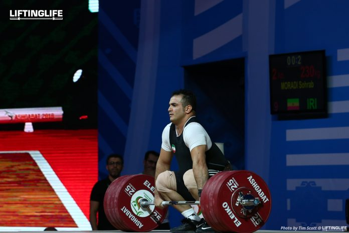 Can Sohrab Moradi still qualify for the Olympics?