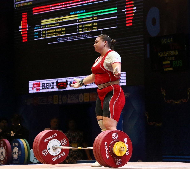 The strngest woman in the world Tatiana Kashirina not on Russia's doping list