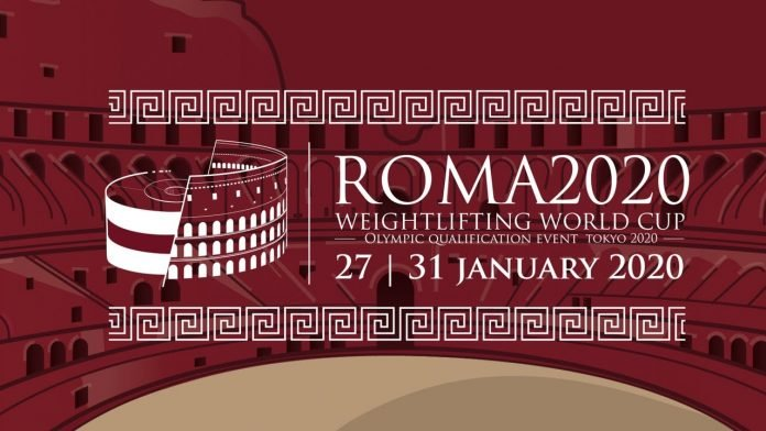 Results, Start list, and schedule, from the Rome 2020 Weightlifting World Cup