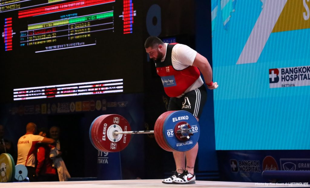 Lasha Talakhadze wins weightlifter of the year after snatching 220kg