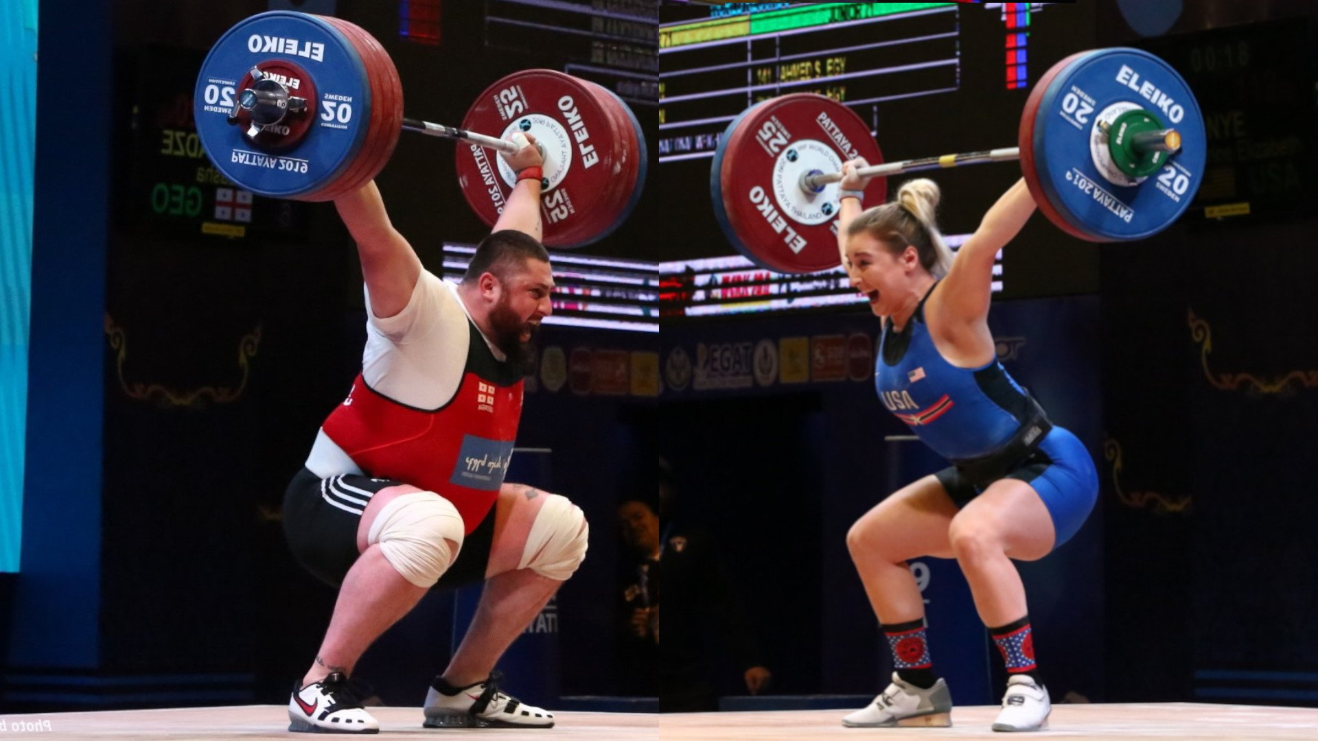 Lasha Talakhadze and Kaye Nye win IWF 2019 Weightlifters of the Year