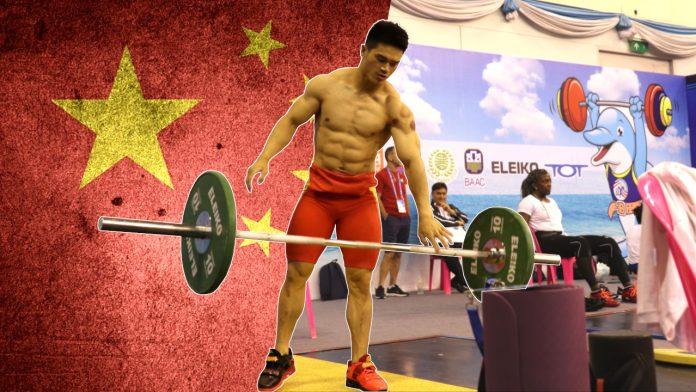 Shi Zhiyong & Li Dayin heavy training session
