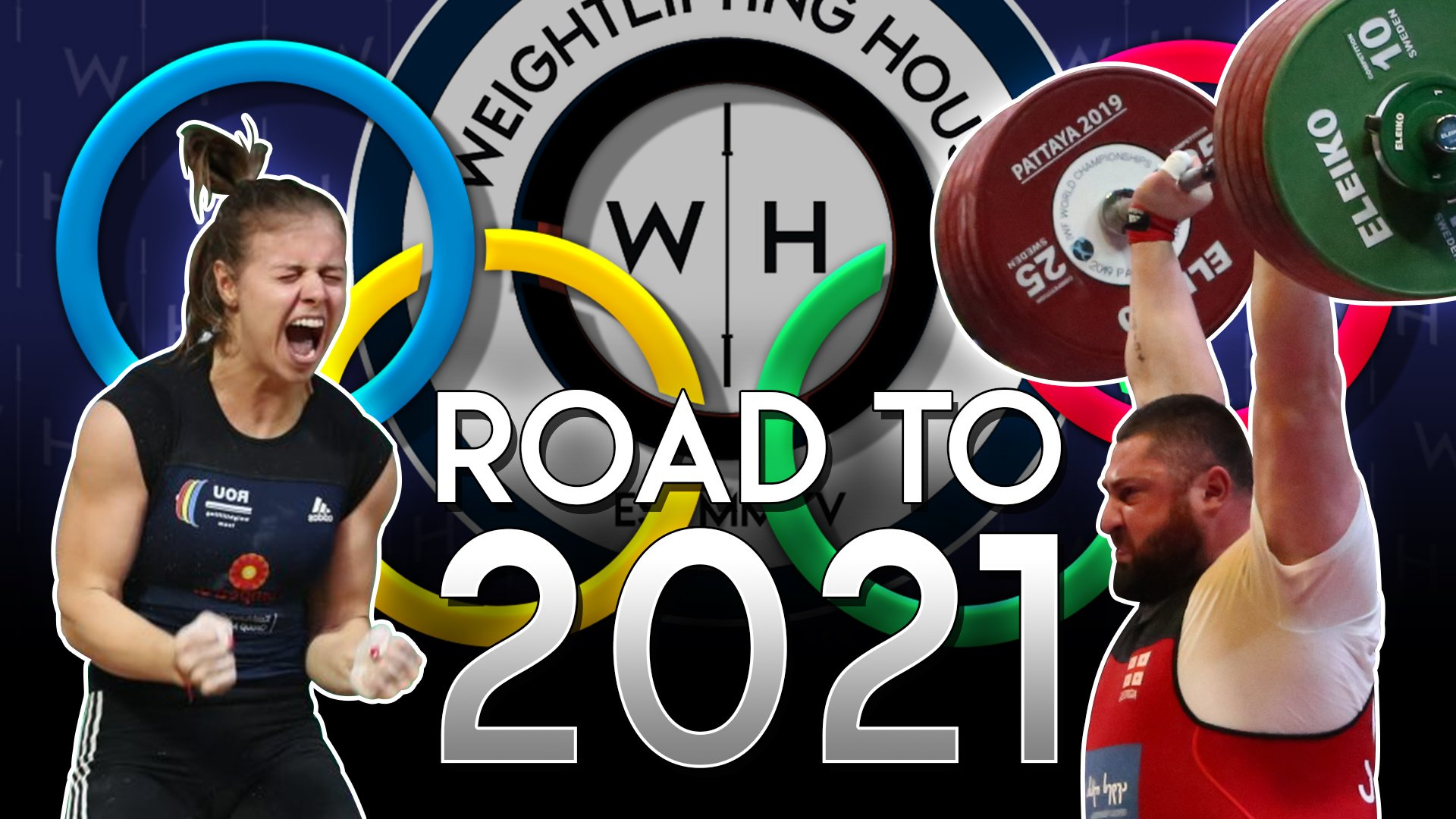 How to qualify for the Olympics in Weightlifting - Robi points and country placing