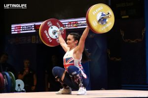 Sarah Davies British Weightlifter in Athletes Commission