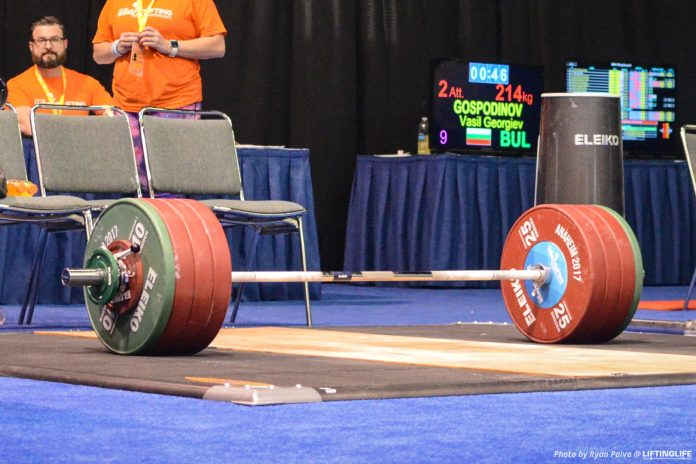 Brian Oliver interview from Inside the Games weightlifting