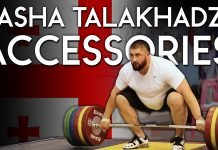 Lasha Talakhadze accessory training